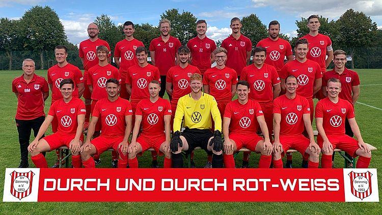 Mannschaftsfoto des SV Strimmig 2020/2021