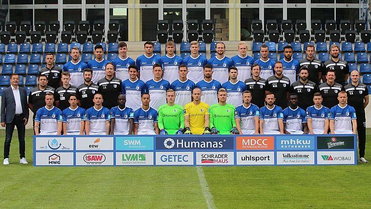 Teamfoto 1.FC Magdeburg Saison 2020-21