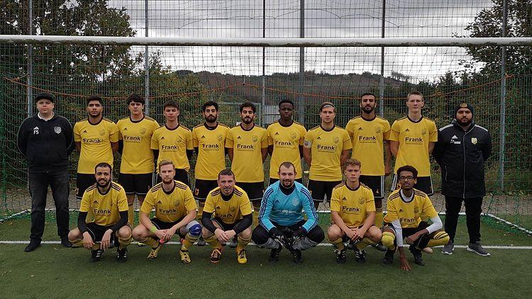 Die 1te Mannschaft vom 1.FC Dautenbach