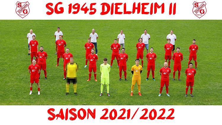 SG 1945 Dielheim 2 - Saison 2021/2022