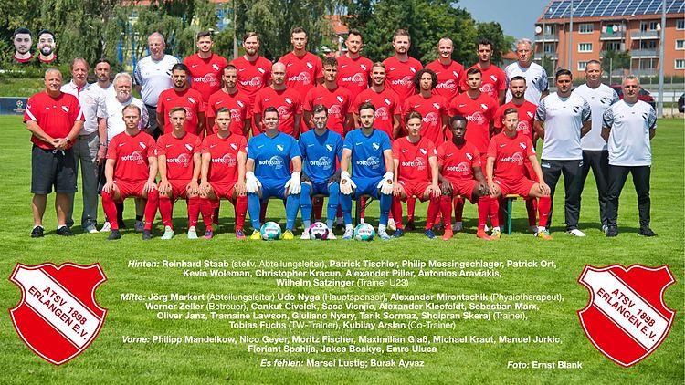 Bayernligateam ATSV 1898 Erlangen e.V.