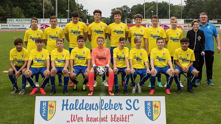 Mannschaftsfoto 2.C-Jugend - Haldensleber SC e.V.