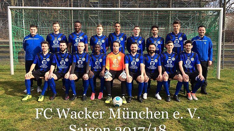 FC Wacker München e. V. - Kreisligasaison 2017/18